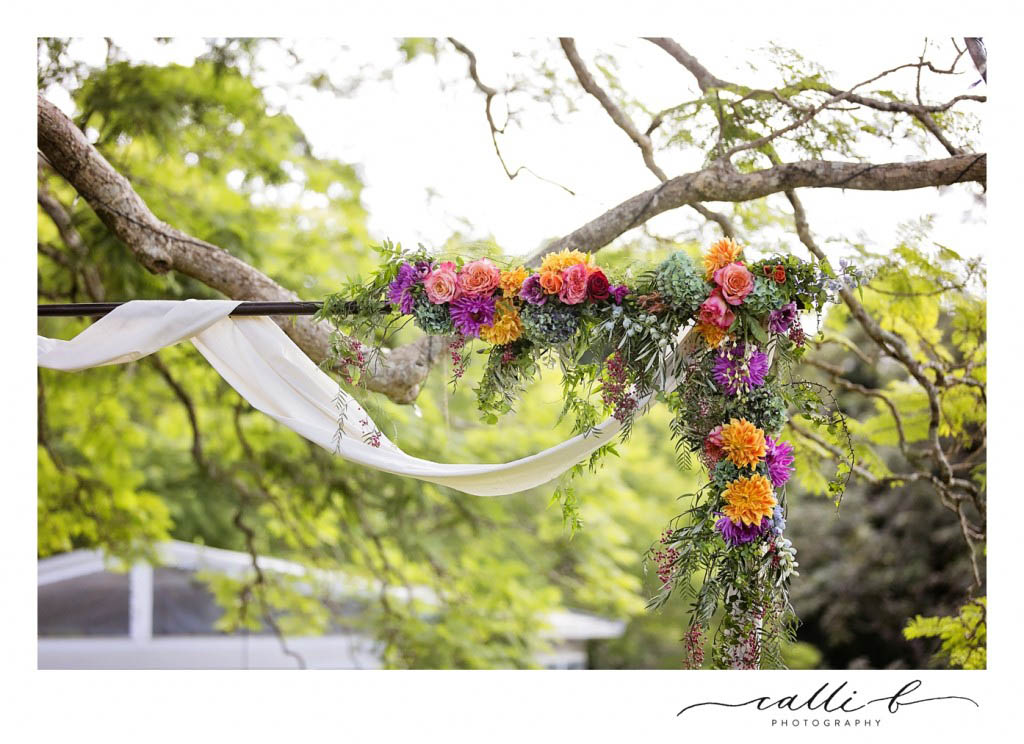 whimiscal canopy flowers