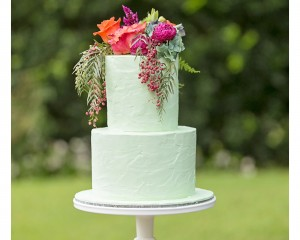 whimisical cake flowers Cake by Cake Designs