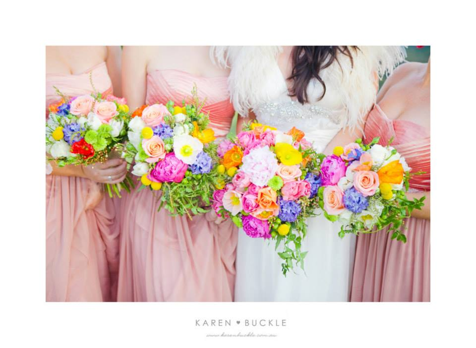 Cute And Colourful Wedding At Maleny Manor With Karen Buckle Photography