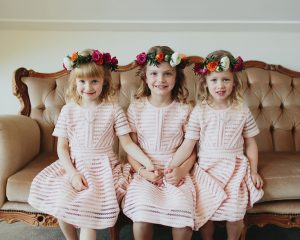 Little People - flower girls and page boys