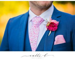 Buttonhole with ranunculus