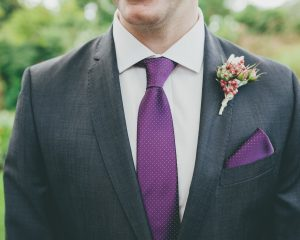 Rustic country buttonhole