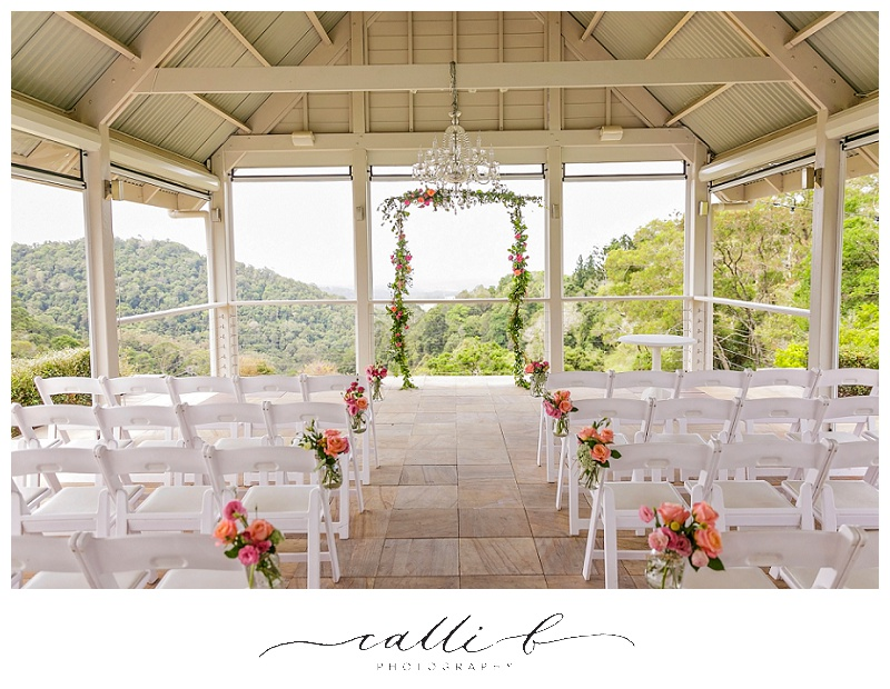 Maleny Manor wedding flowers