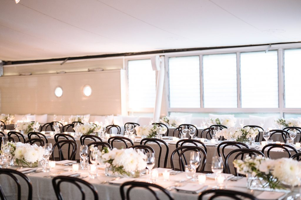 Modern Coastal Wedding Style Sails Restaurant Noosa