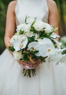 White Floral Wedding Inspiration
