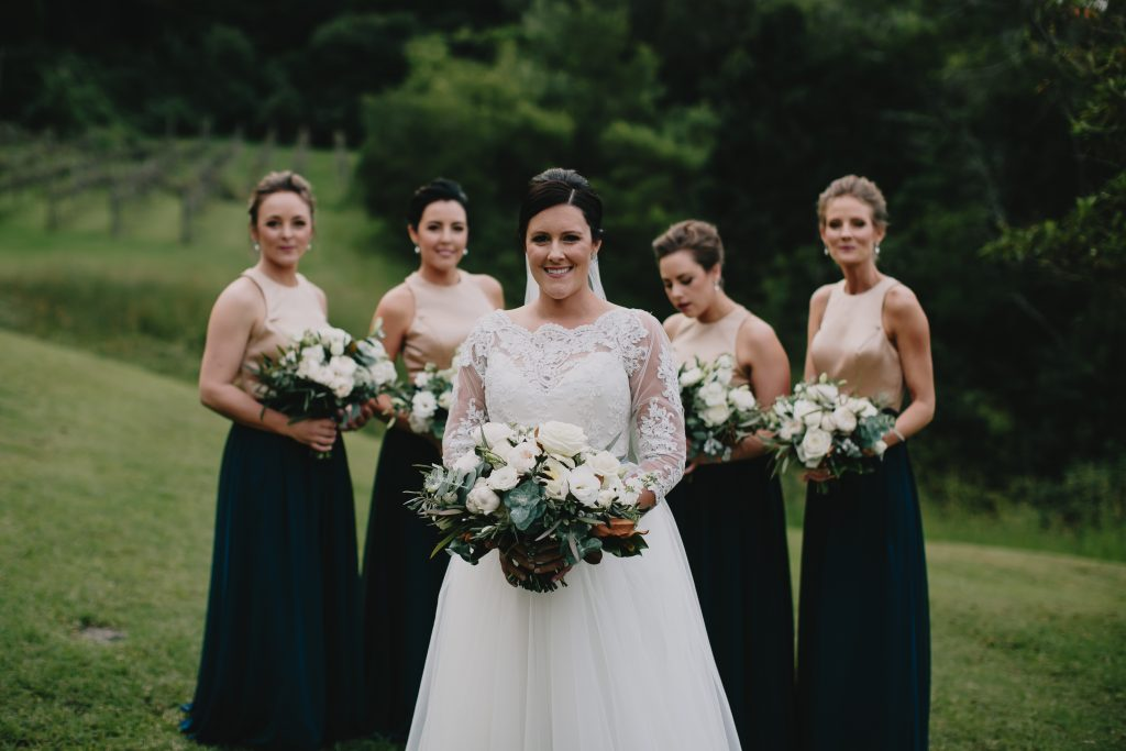 White Flower and Rustic Inspired Wedding