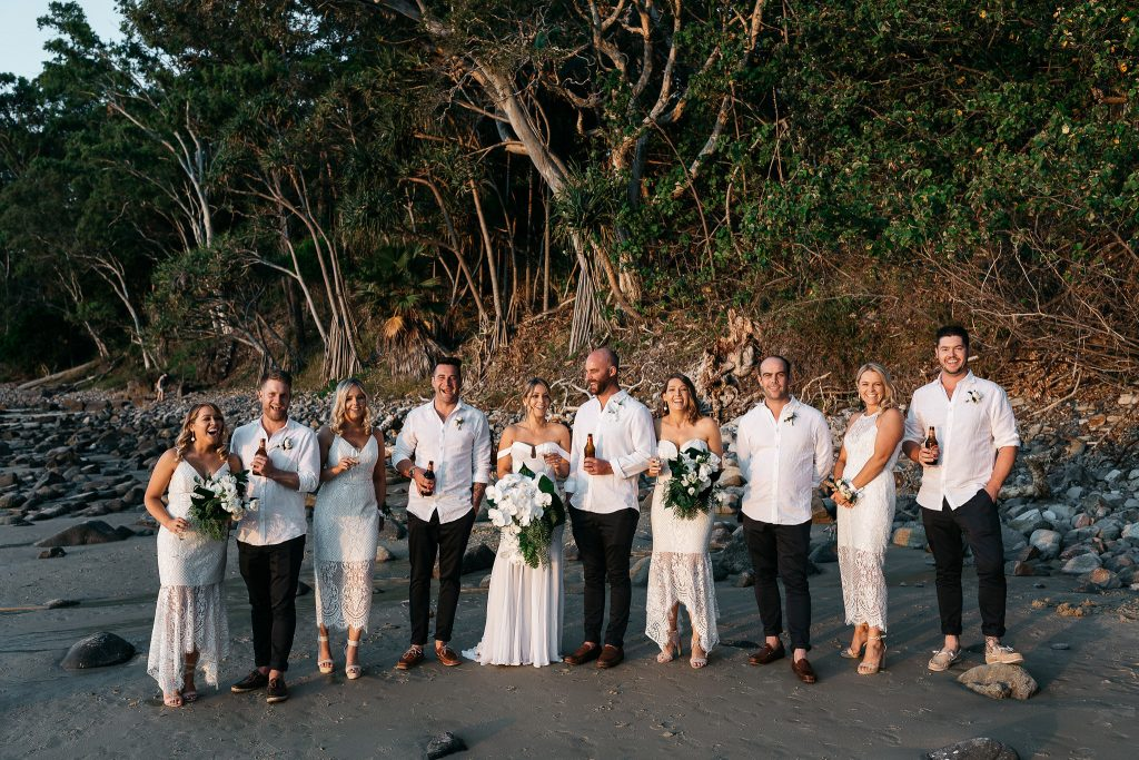 White Orchid Noosa Wedding