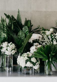 Coastal luxe Noosa wedding