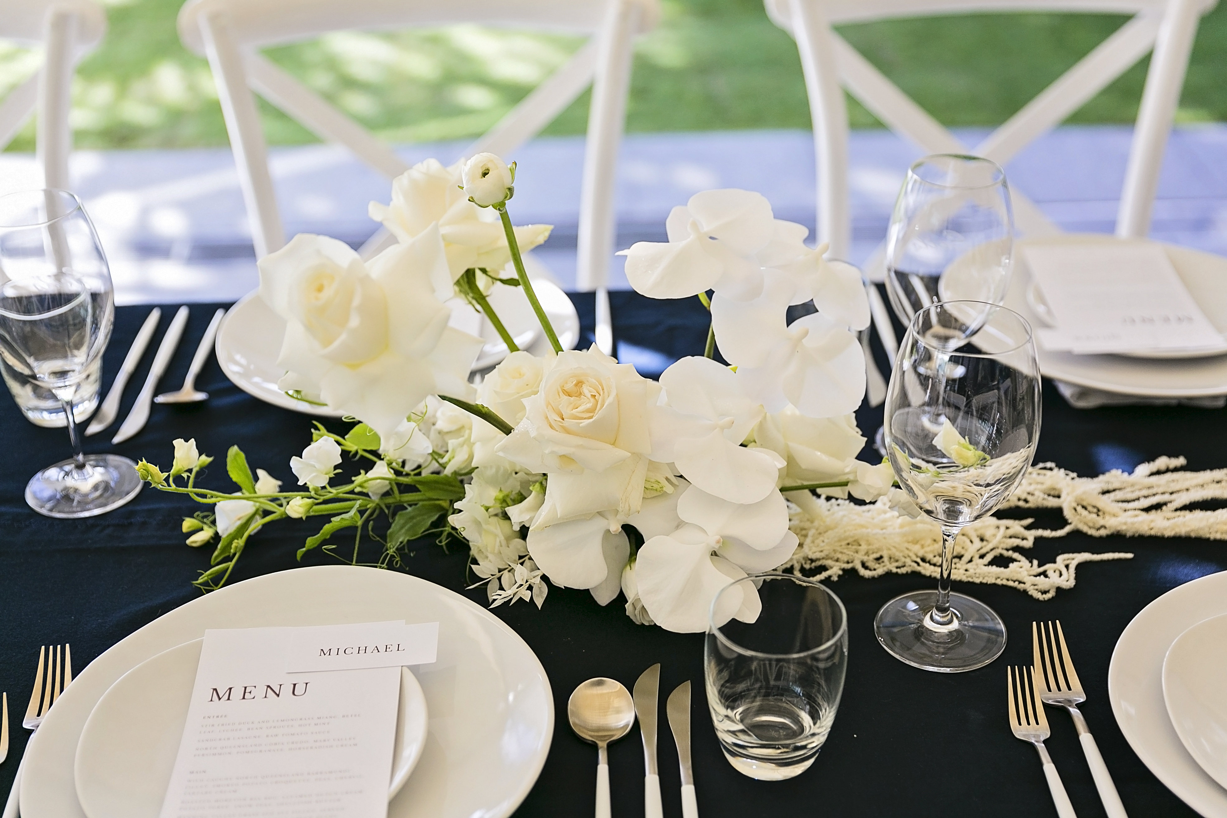 Sleek And Savvy Wedding Style Sails Restaurant Noosa