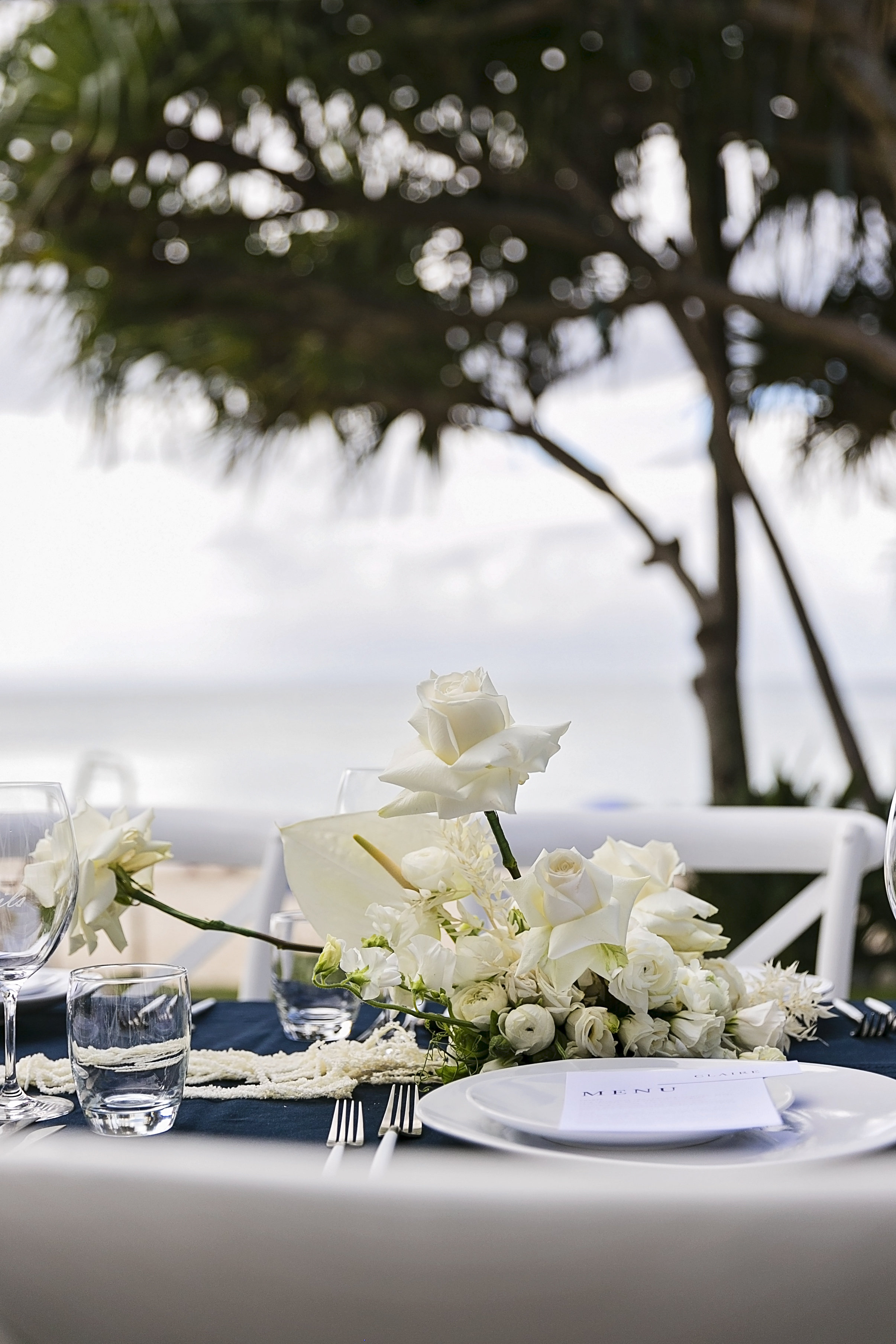 Modern and Contemporary Style Wedding Flowers in Noosa