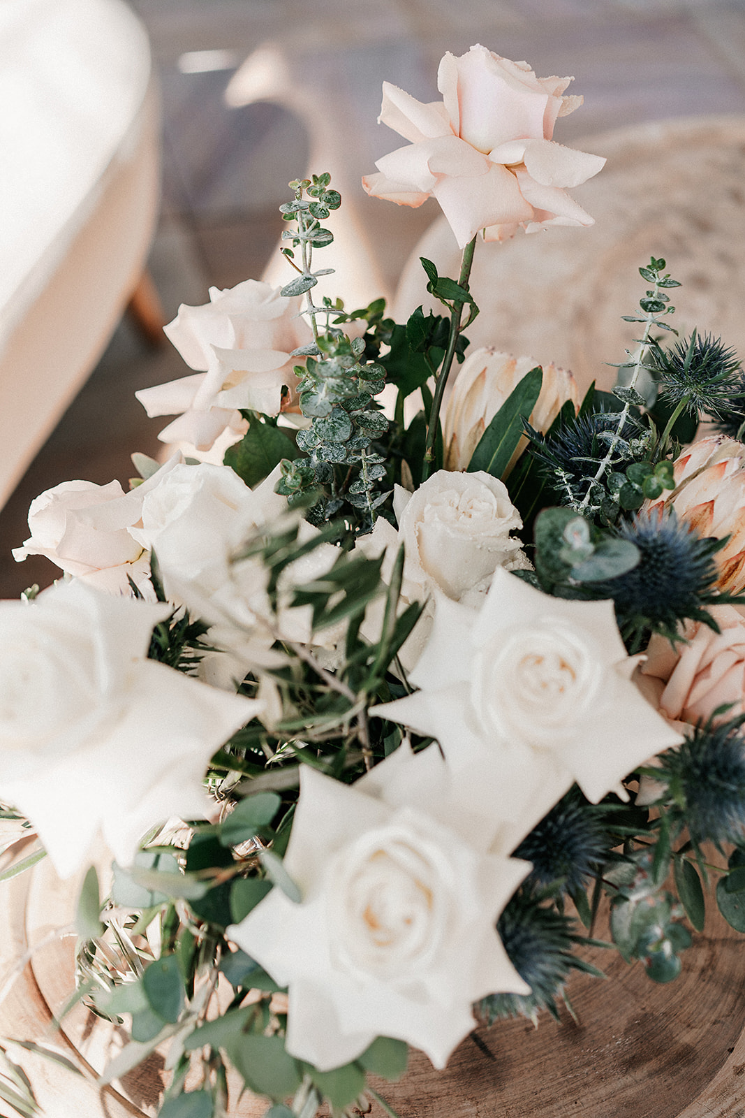 Maleny Manor Hinterland Wedding with Native Flowers and Rustic Foliage