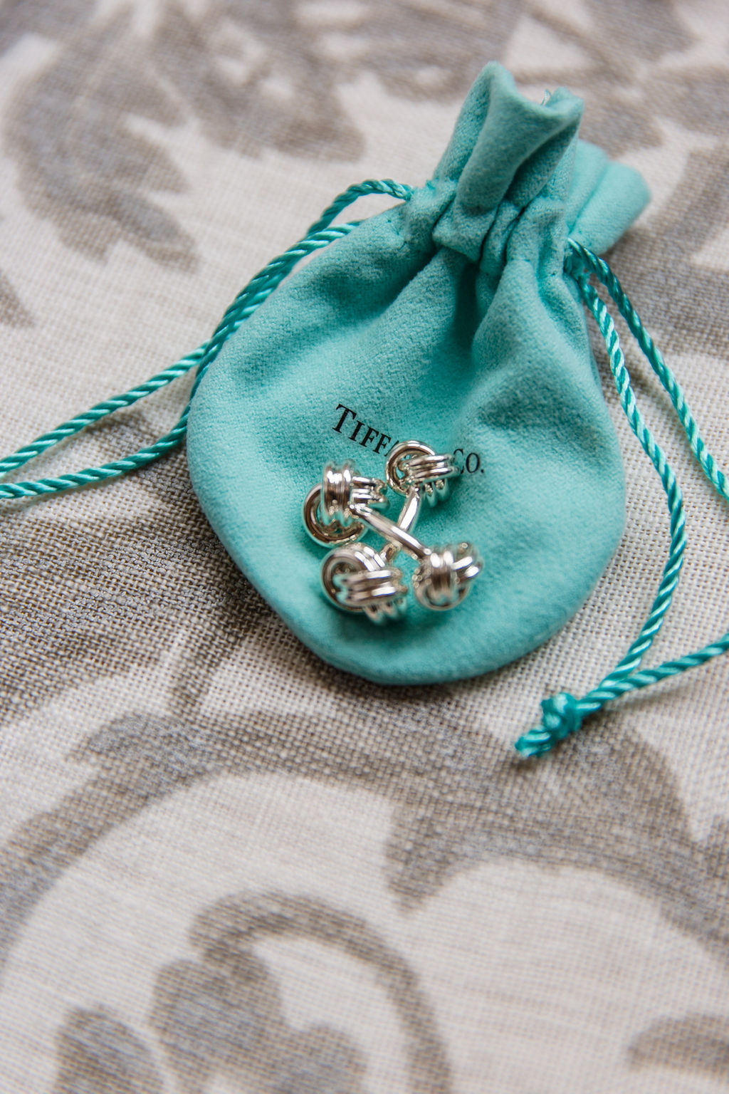 Tiffany and Co Cufflinks & Tom Ford Suit Style