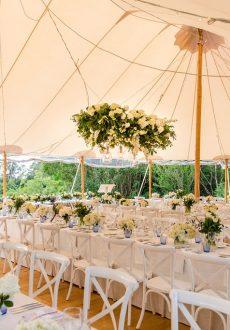 Hamptons style Hinterland wedding