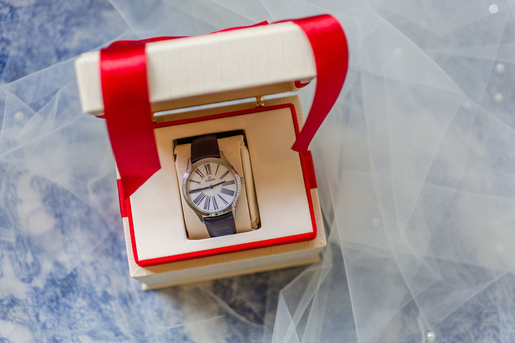 Omega Watch & Dolce & Gabbana Bridal Acessories