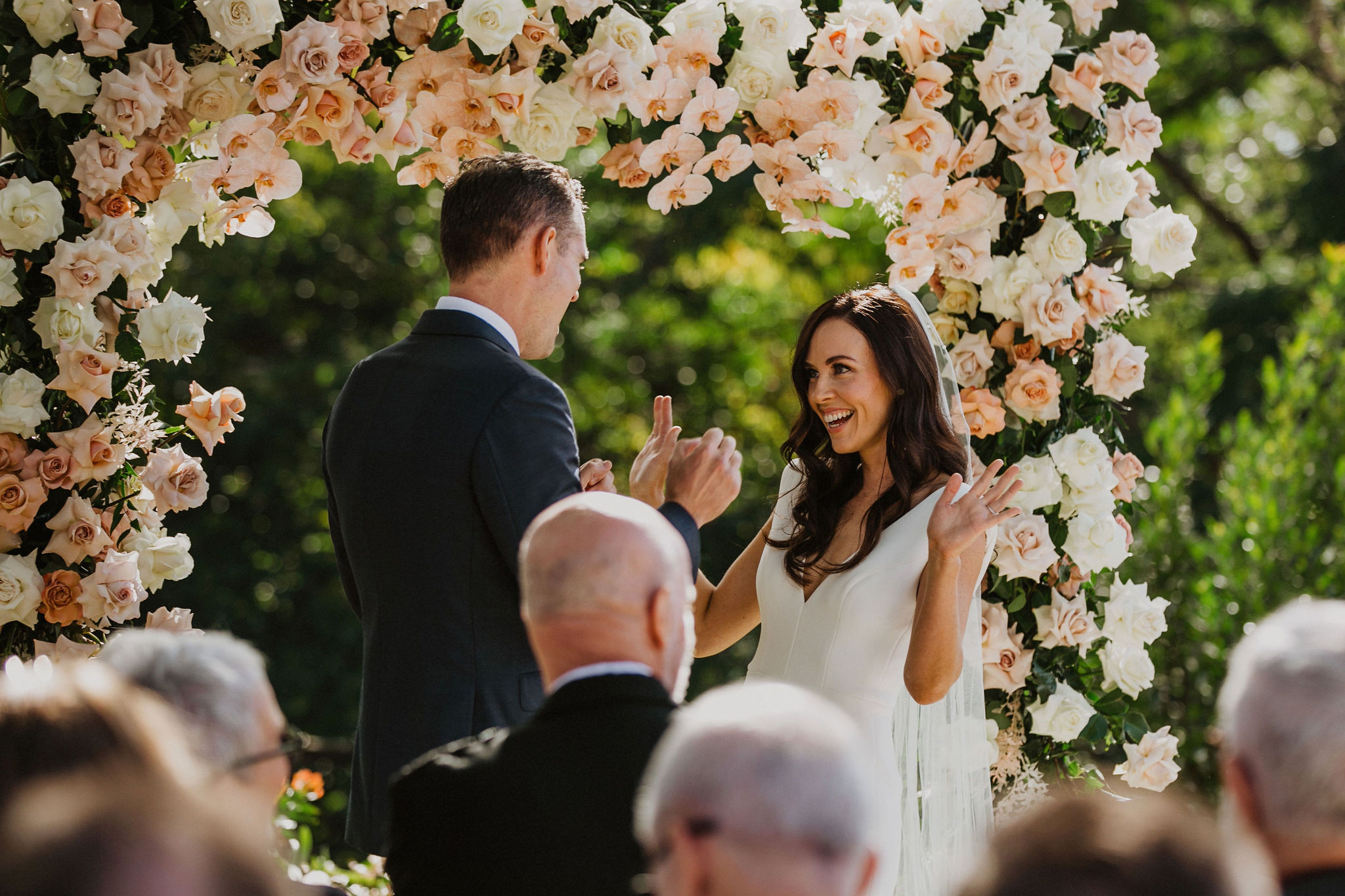 Ceremony Arbour Spicers Clovelly Estate