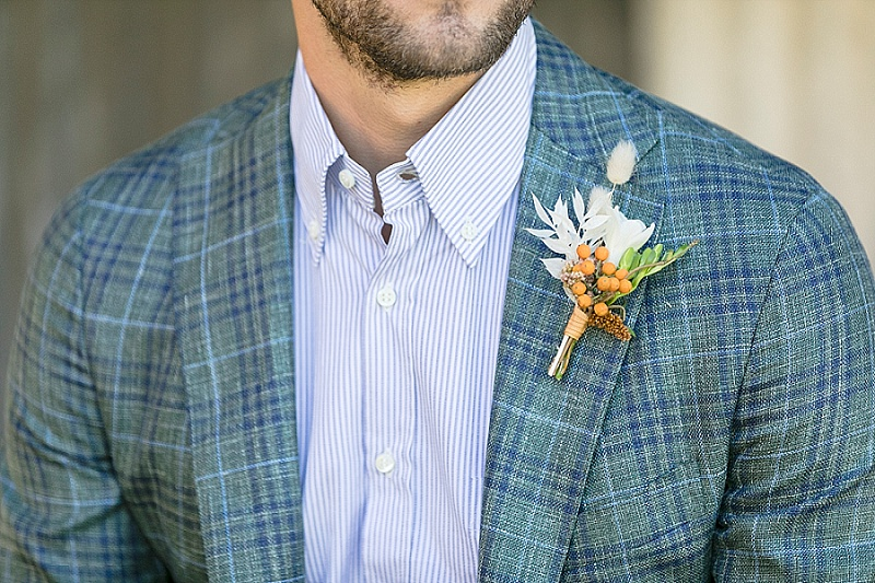 groom florals for buttonhole