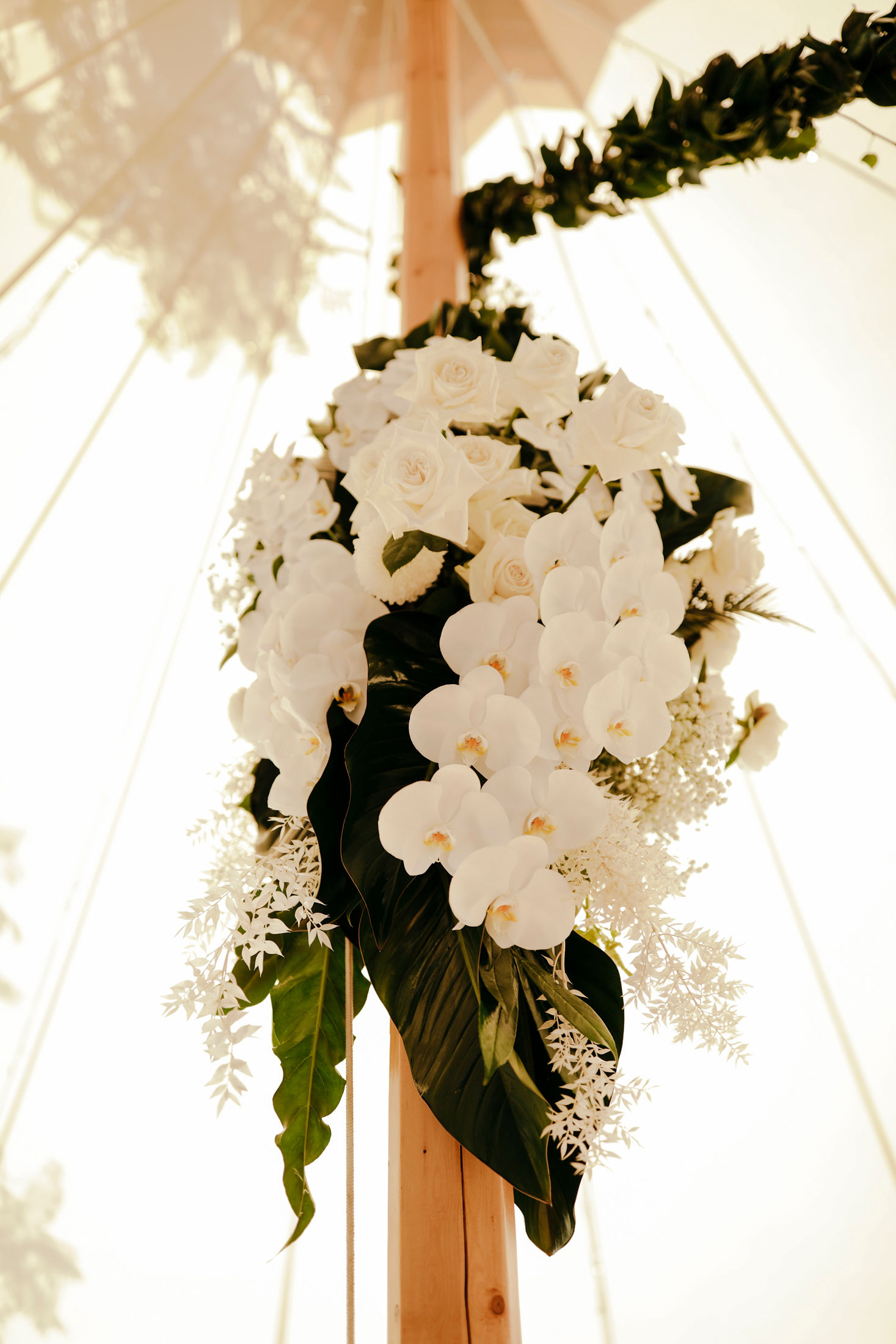 Moderna and Chic Wedding Reception Style