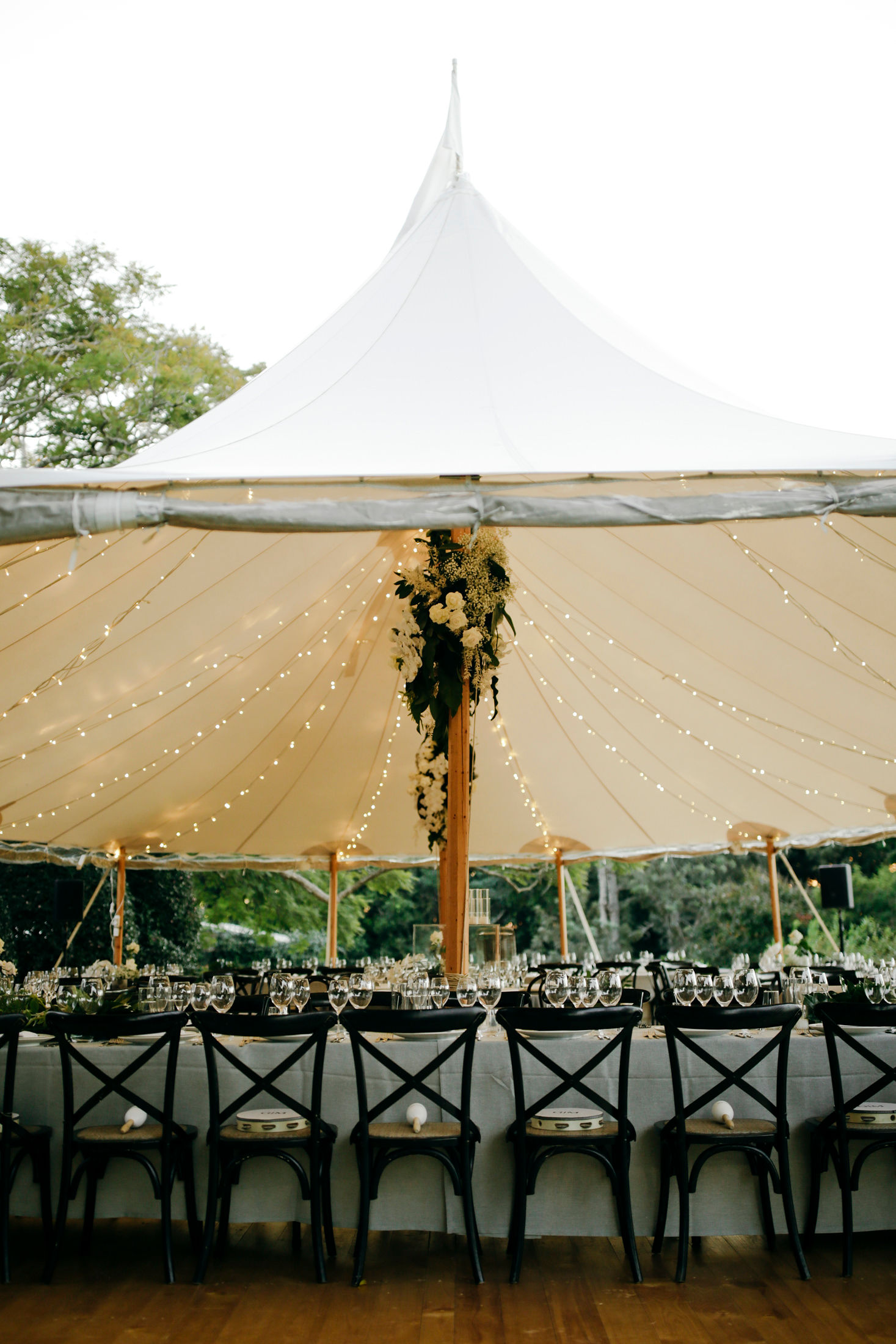 Modern and Chic Wedding Reception Style
