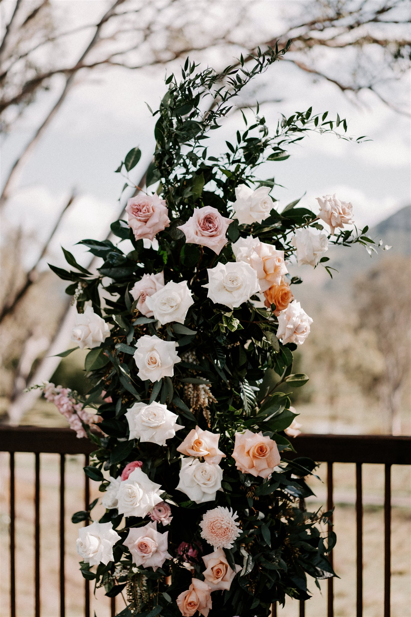 Free Standing Ceremony Floral Structure