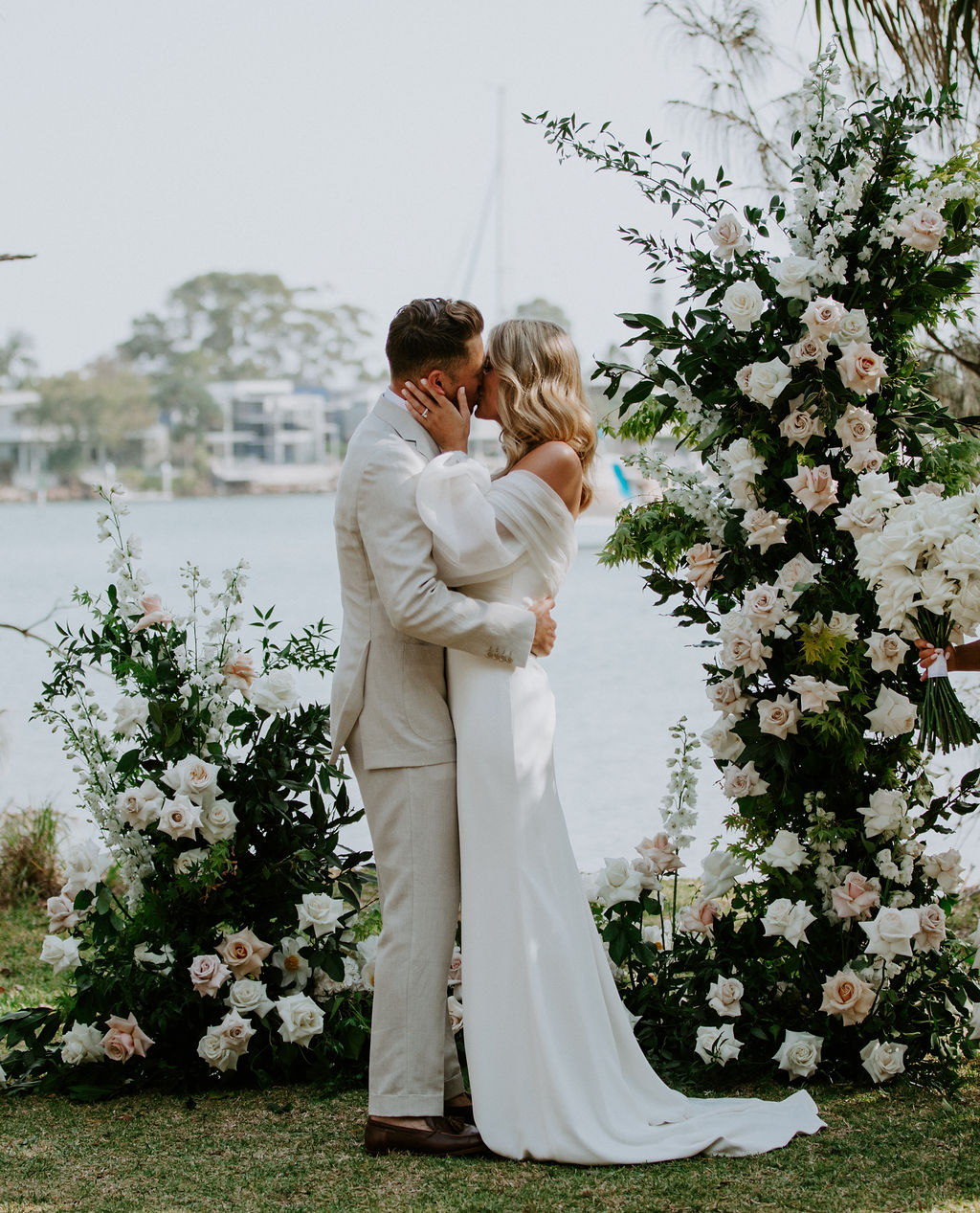 Free Standing Floral Ceremony Wedding Structure