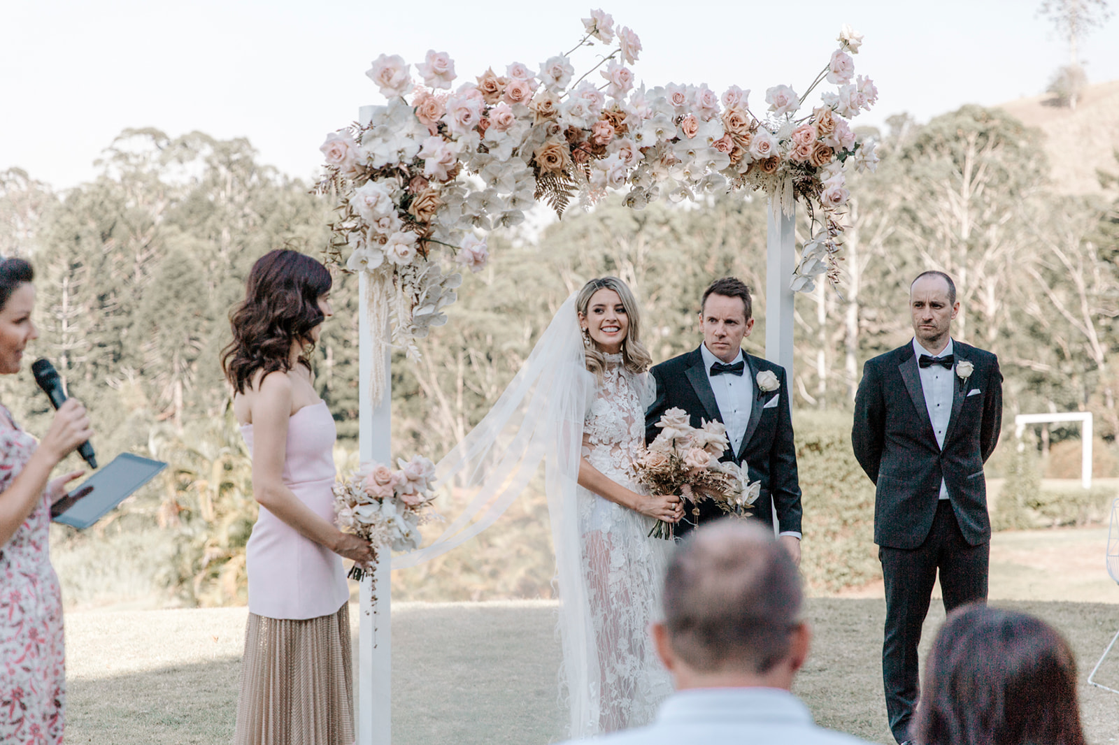 Modern Ceremony and Reception Flowers Sunshine Coast