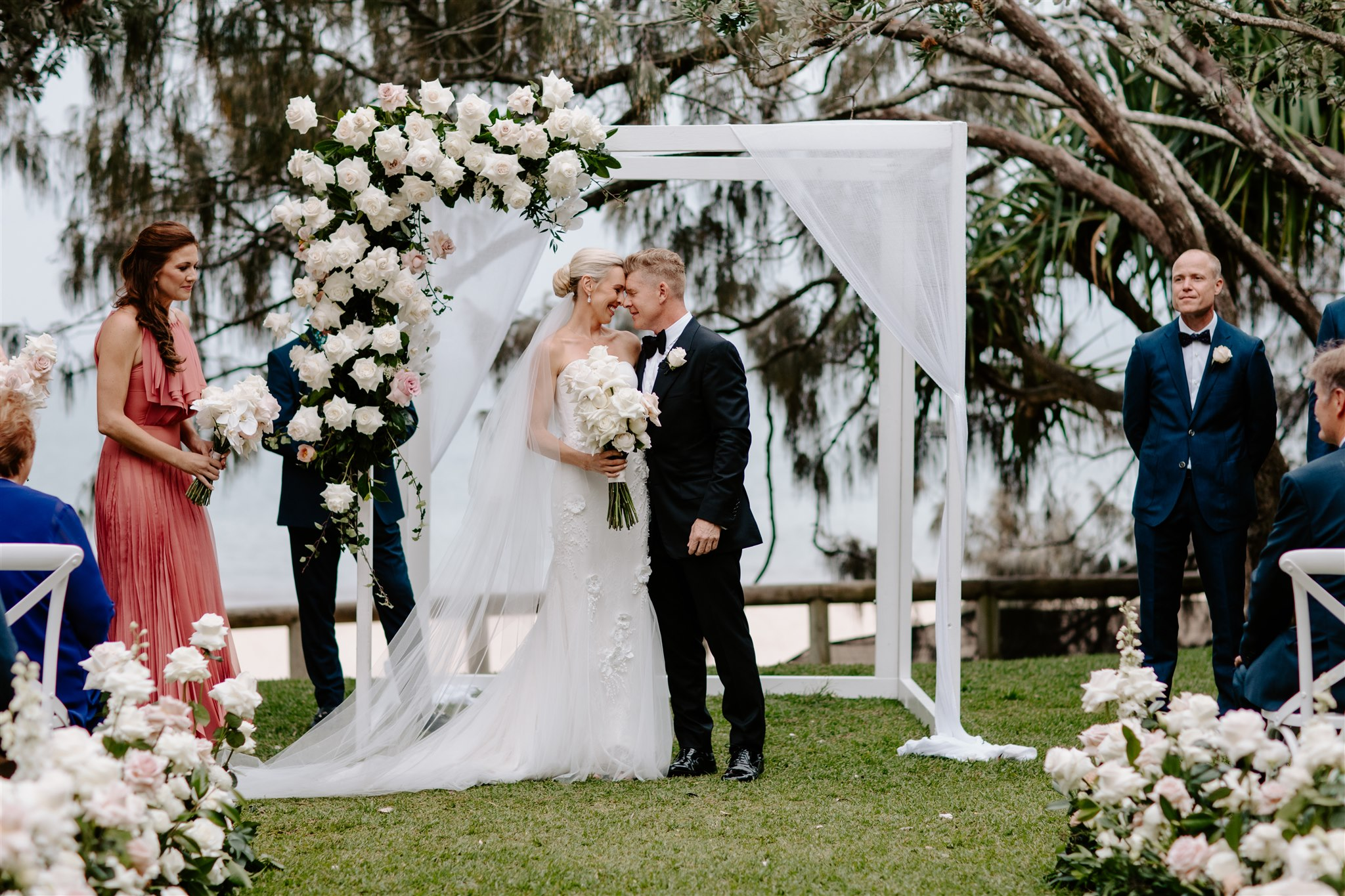 Kim And John's Sails Noosa Wedding