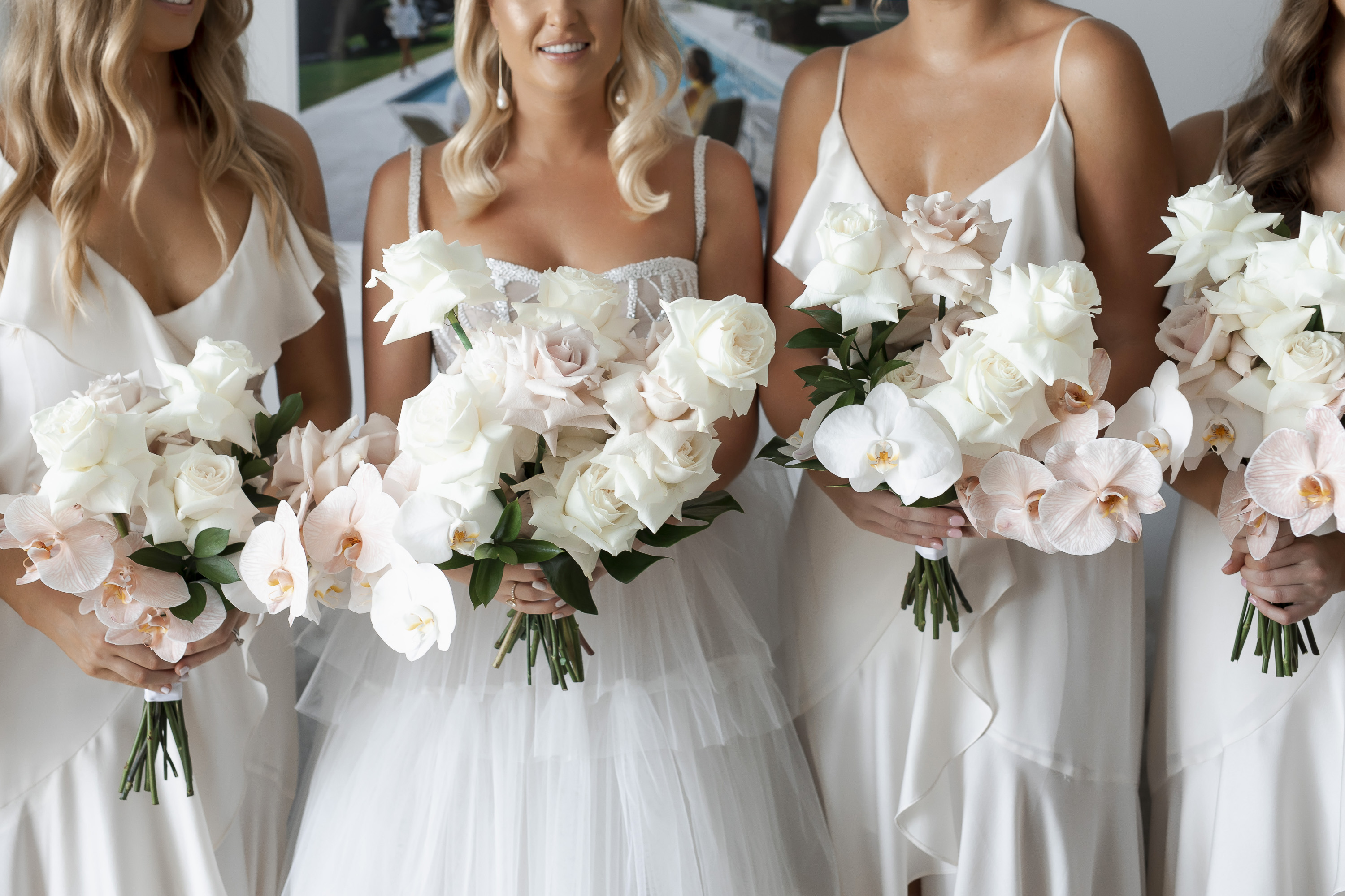 Rose Wedding Modern Coastal Noosa Style