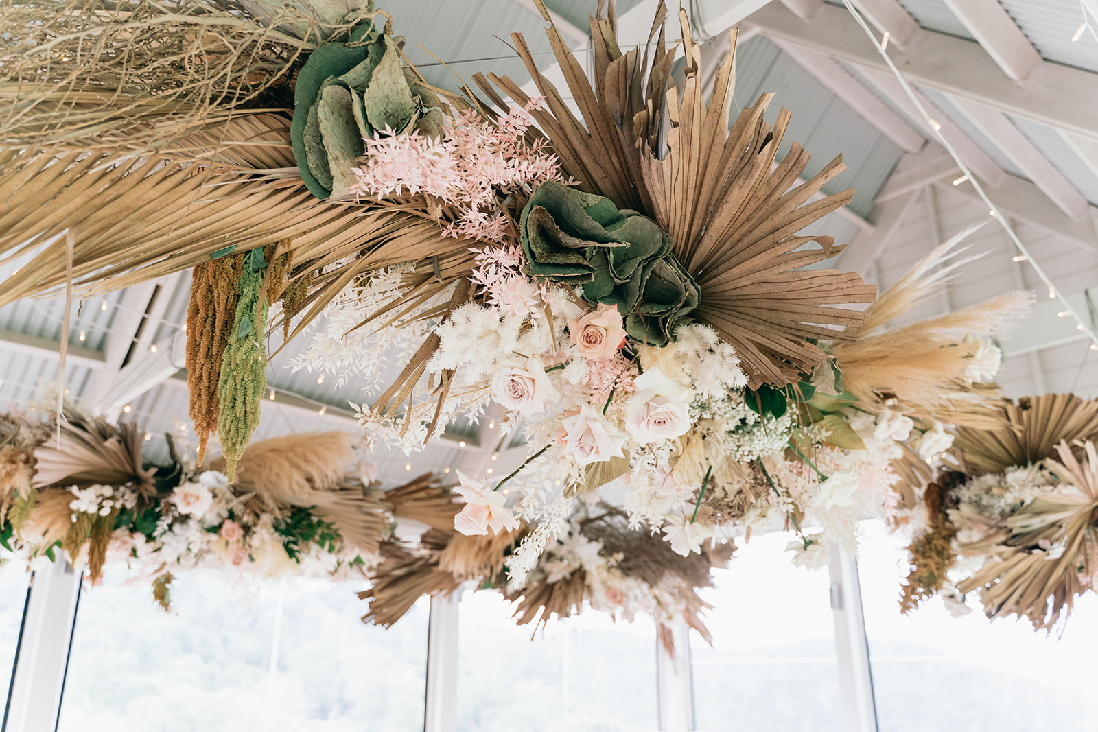Muted Earthy Pink Wedding Flower Inspiration