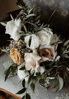 rustic bohemian wedding style