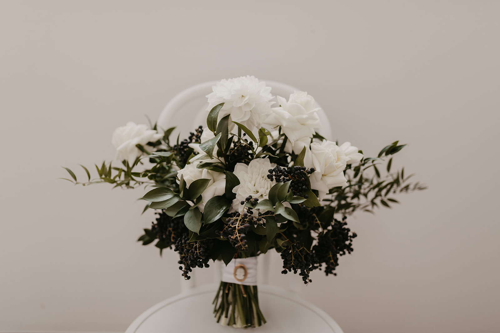 Seasonal White Wedding Flowers
