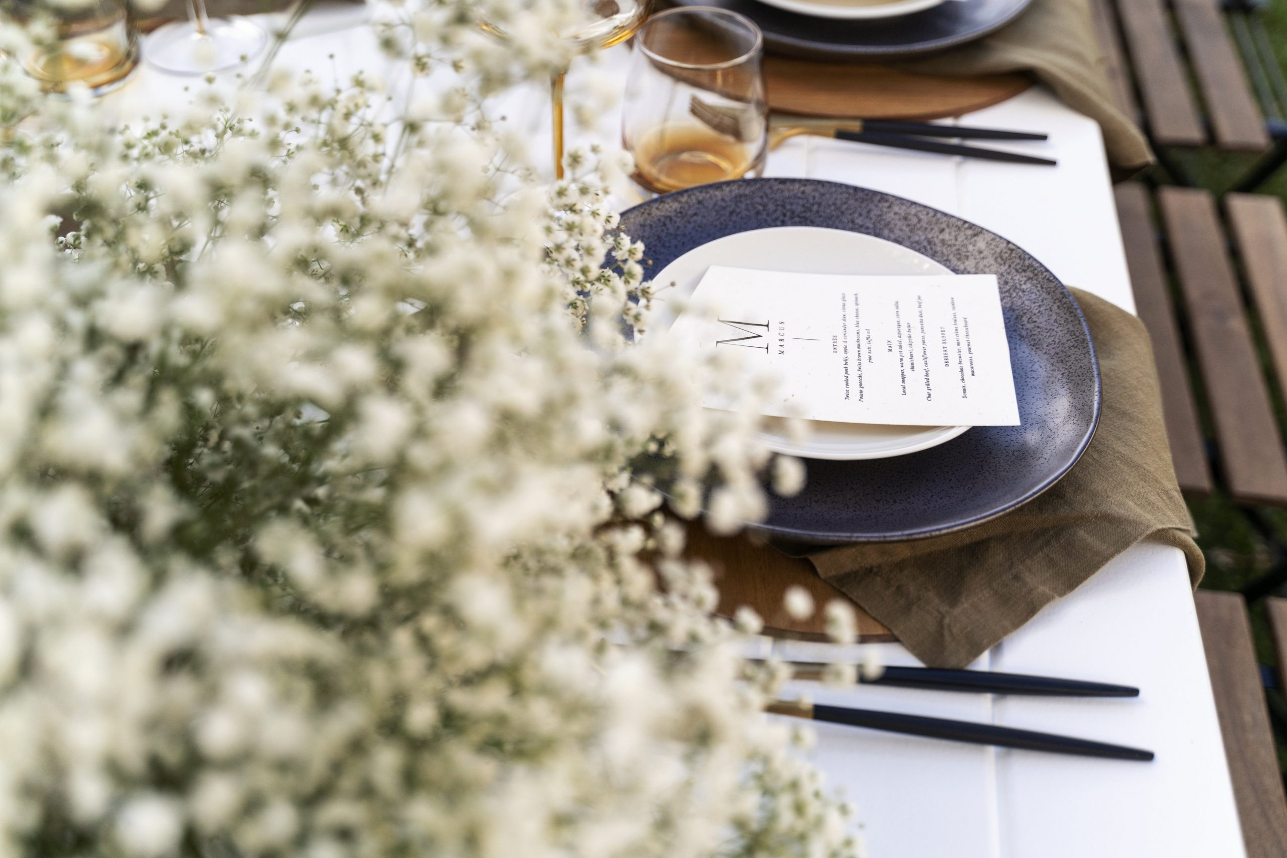Luxurious Corporate Styling and Blooms