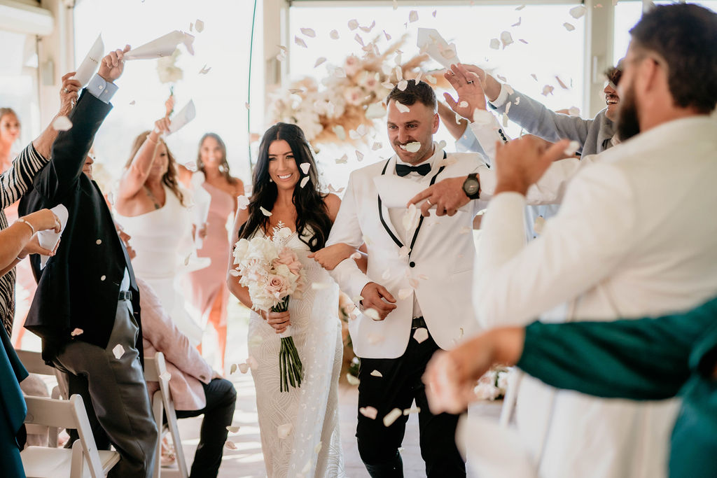 Ceremony Floral Ring Arbour