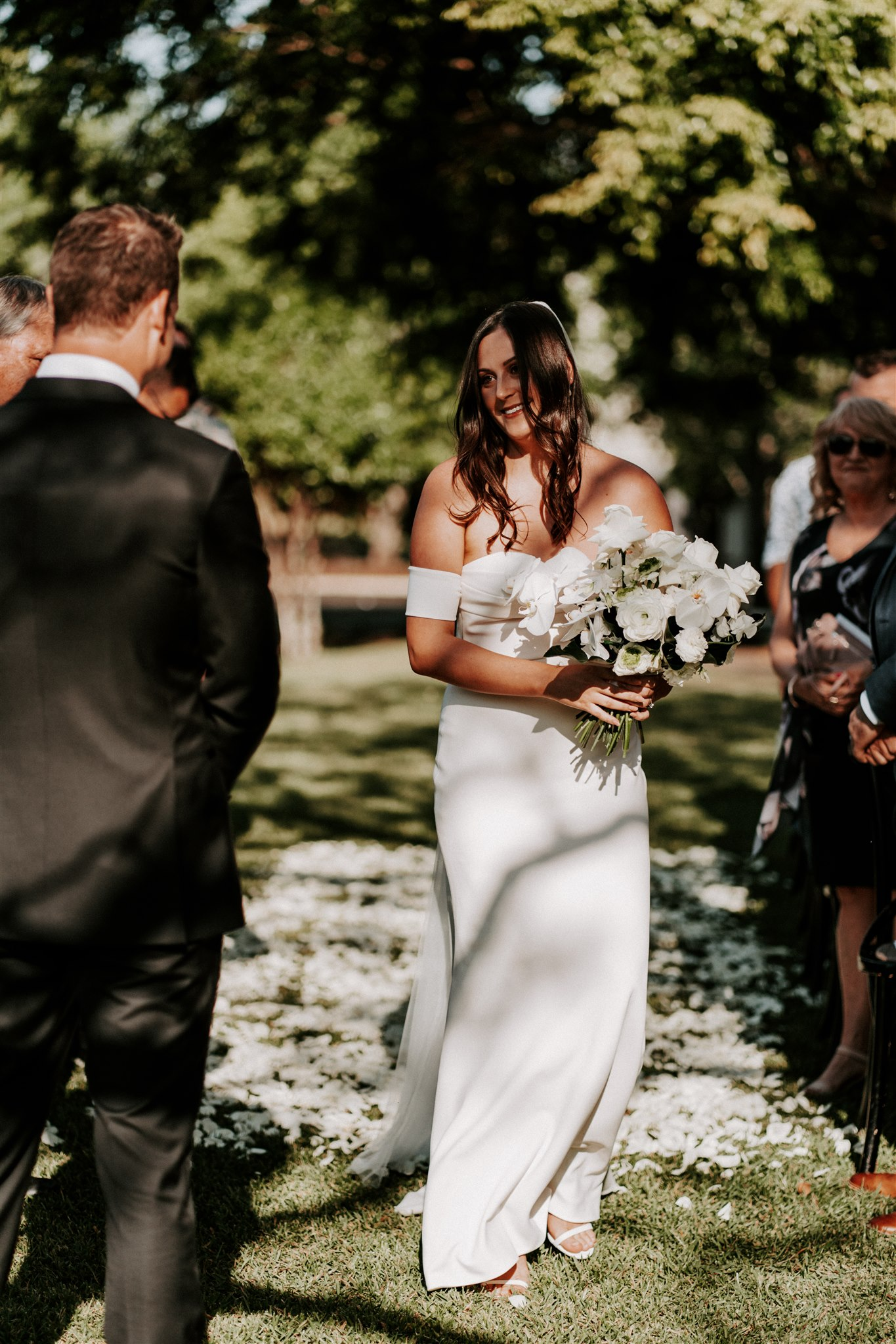 Spicers Clovelly Estate Wedding Ceremony Flowers