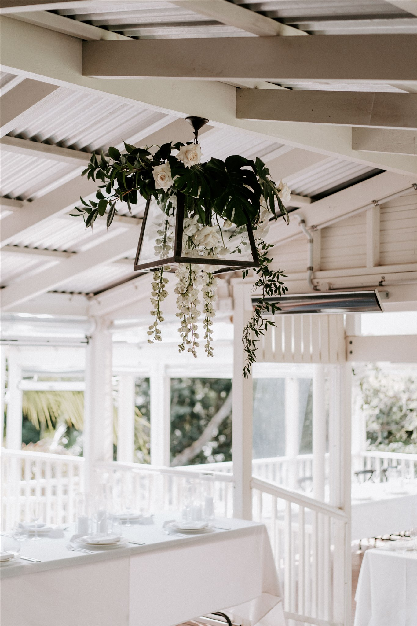 Spicers Clovelly Wedding Reception Flowers