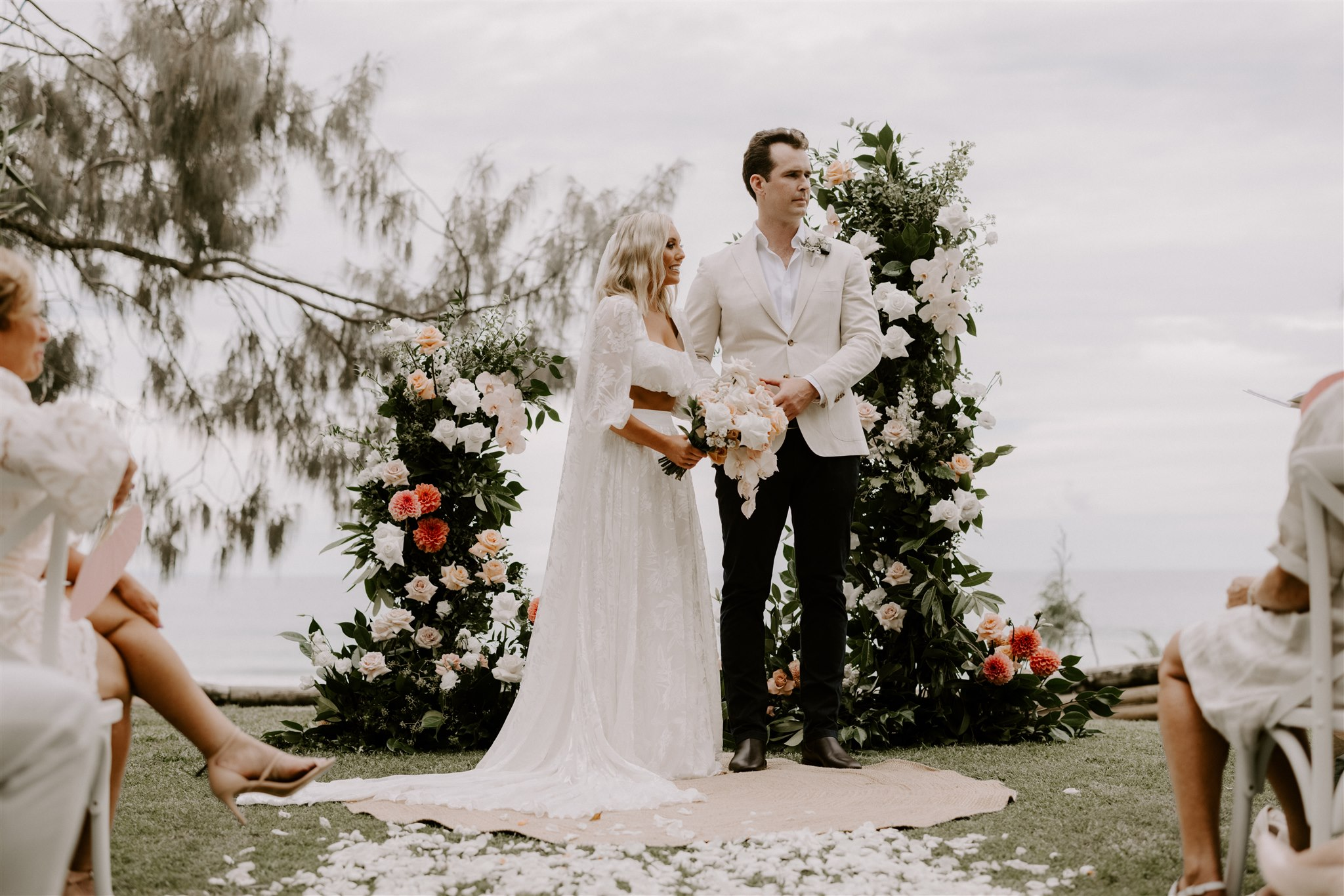 Steph and Will's Private Property Wedding