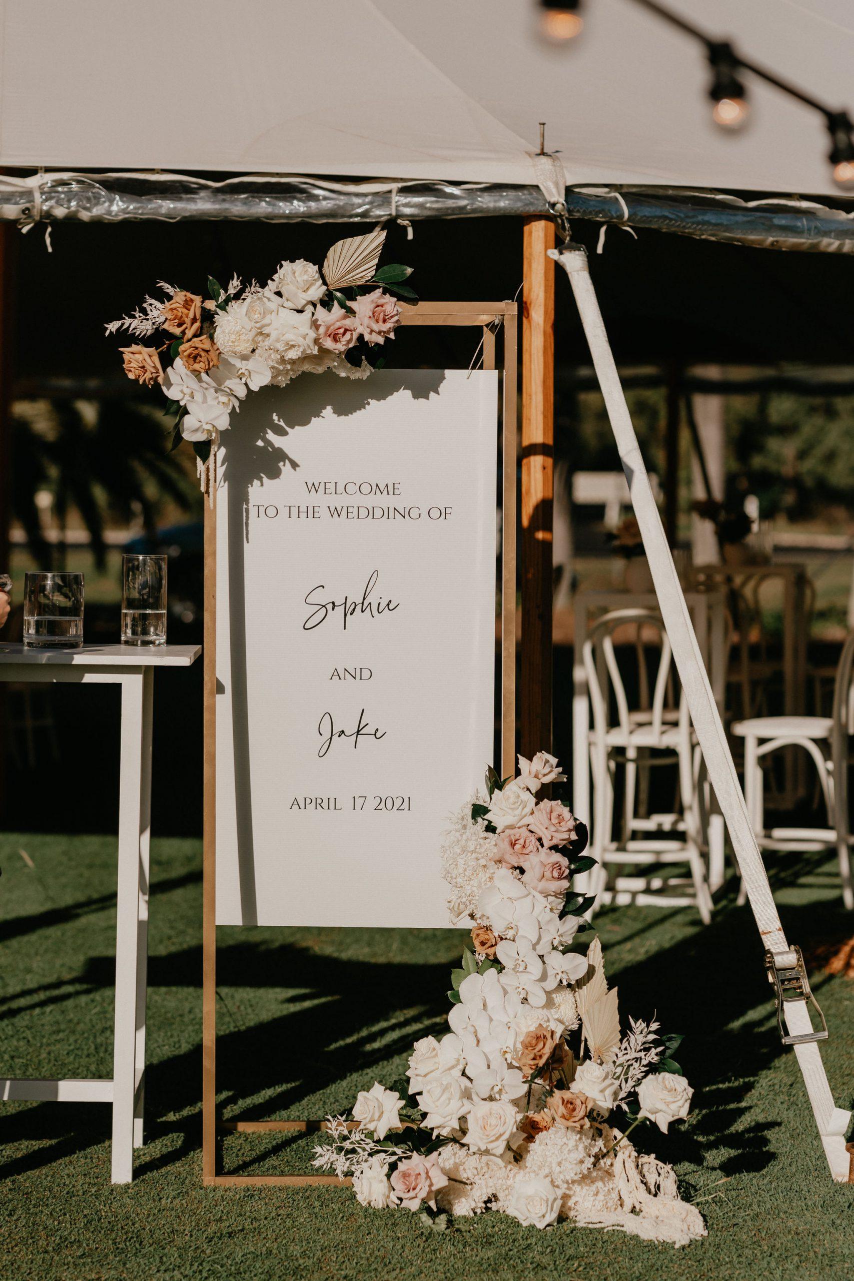 Sperry Tent Wedding Reception