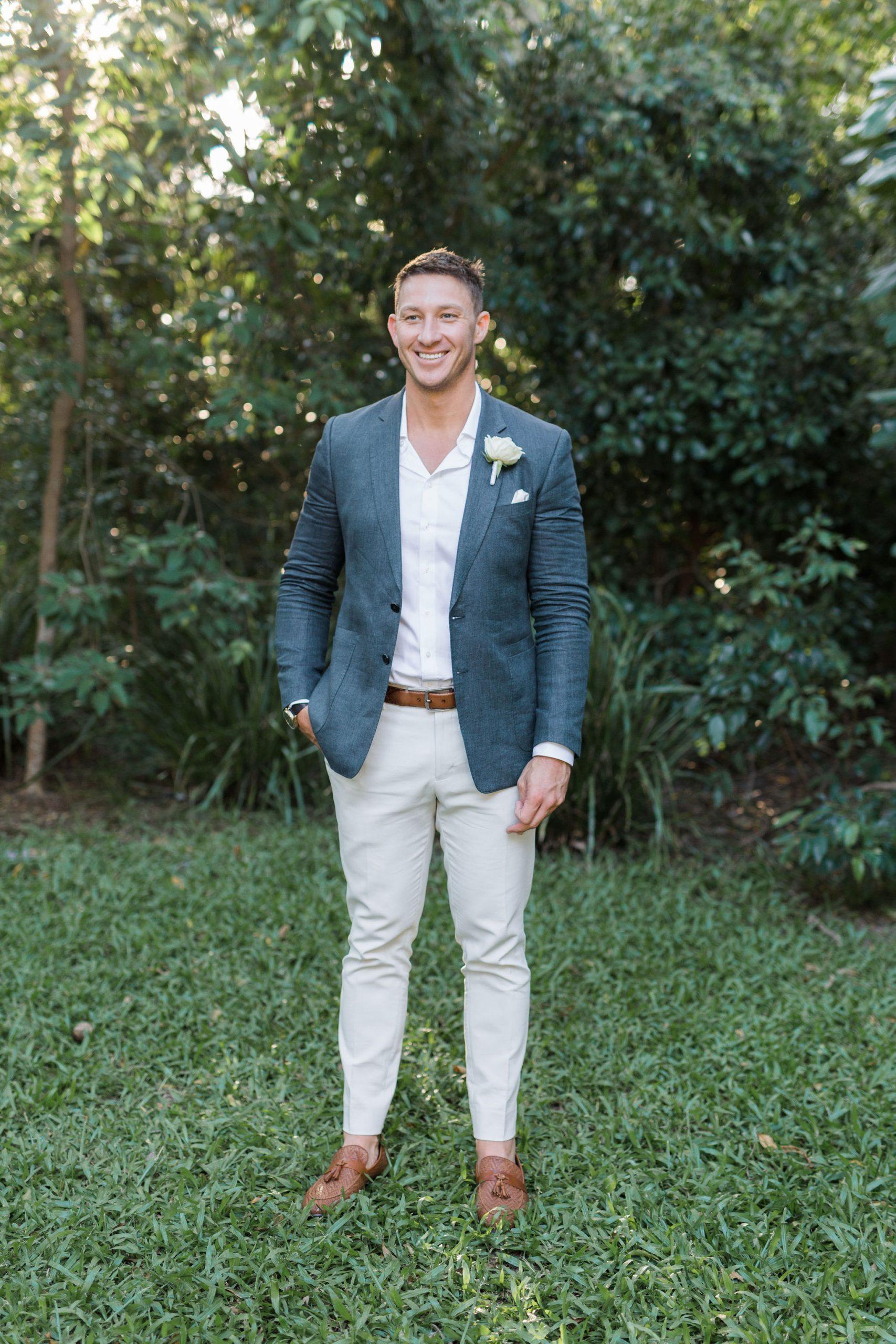 Tropical Style Sunshine Coast Wedding