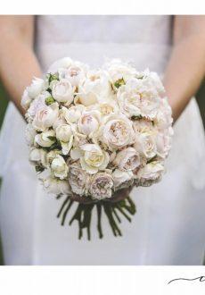 Bridal Bouquet featuring David Austin roses