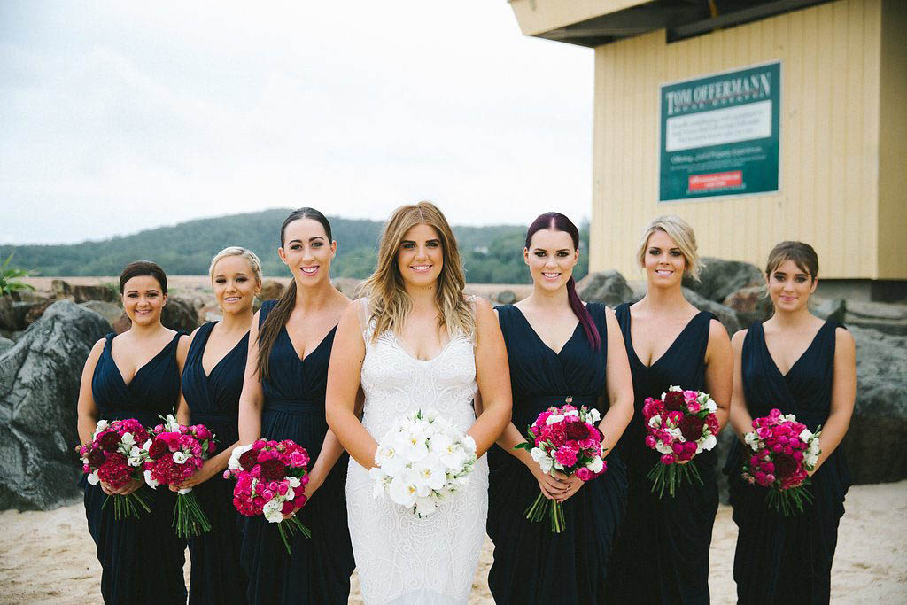 Noosa Beach Wedding Flowers
