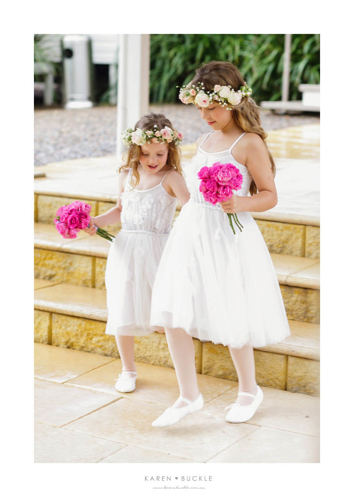 flower girl wedding flowers