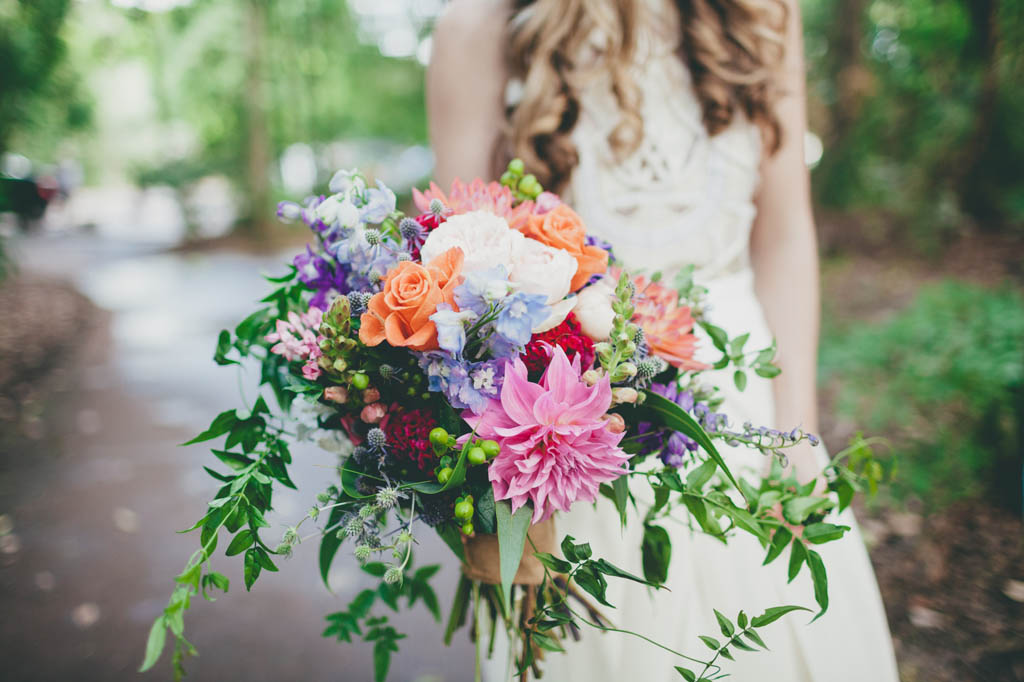 Bright Whimsical Wedding Bouquet