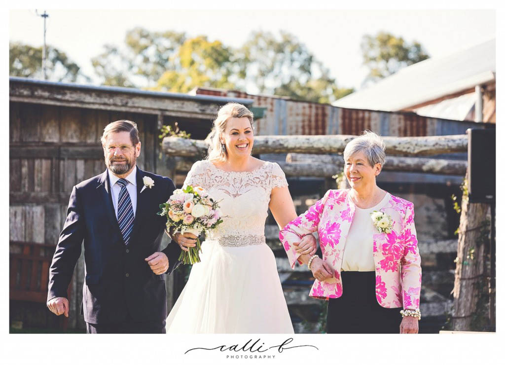 Yandina Station wedding flowers