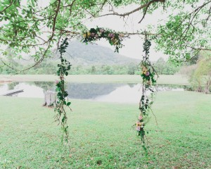 Suspended tree canopy floral Image by Shutter and Lace Photography