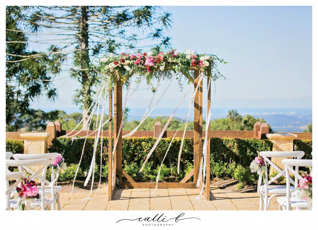 bright whimsical canopy flowers