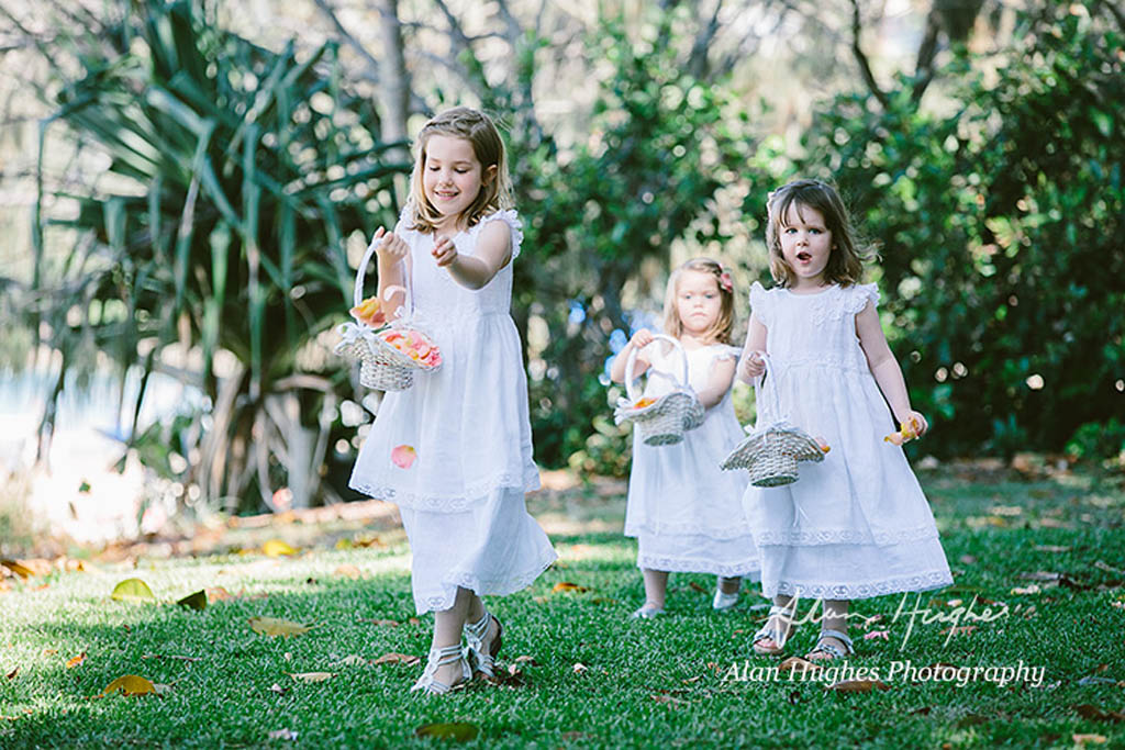 Flower girl baskets Noosa