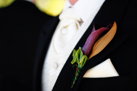 Corsage and Buttonhole wedding flowers