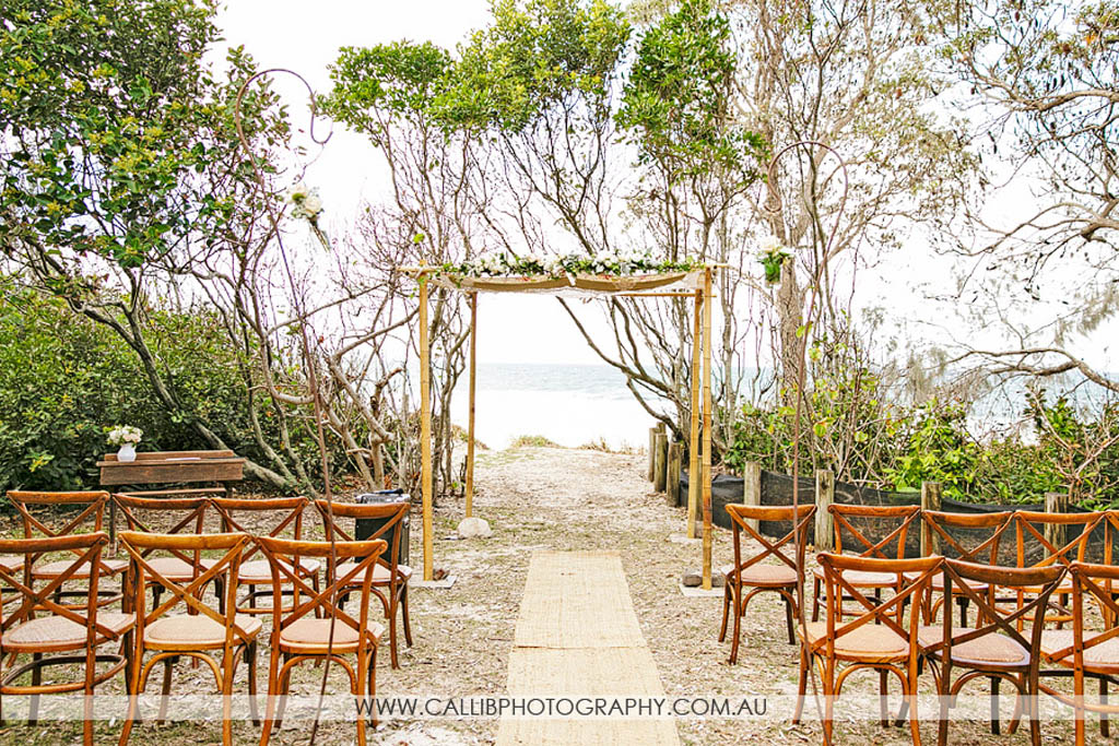Noosa Wedding At Bistro C With Lovebird Weddings And Calli B Photography